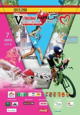 Cartel Half Triatlón 2018