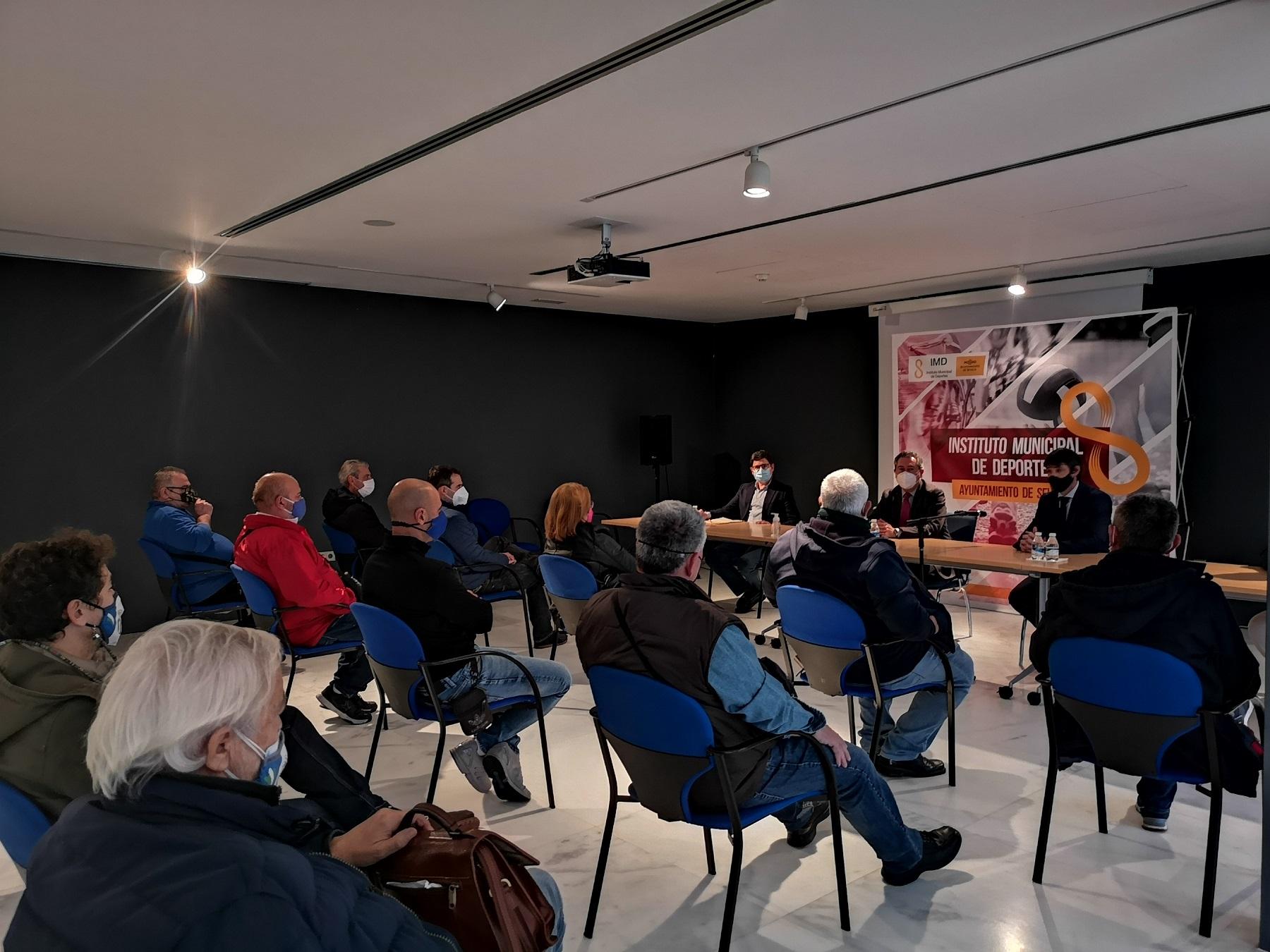 Presentación a entidades del plan de apoyo a clubes deportivos