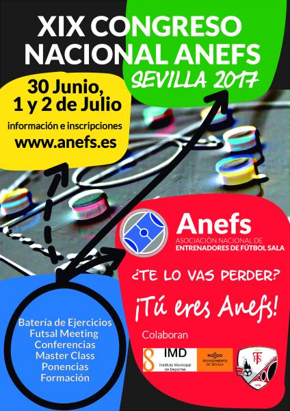 Cartel Congreso ANEFS