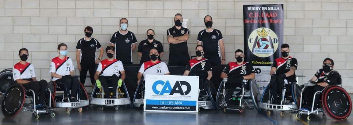 Fotografía del CAAD Quad Rugby Sevilla