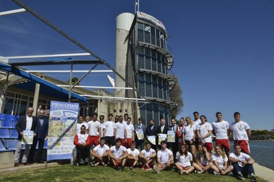 1091 deportistas procedentes de 100 clubes de 16 autonomías celebran el L Campeonato de España de Piragüismo de Invierno este fin de semana