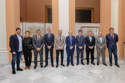 El Ayuntamiento de Sevilla ha acogido la presentación de la Copa del Mundo de Fútbol 7 IFCPF World Cup 2019