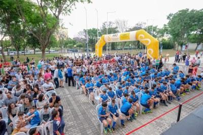 Clausura de los Juegos Deportivos Municipales en el distrito Nervión San Pablo