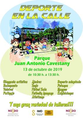 'Deporte en la Calle' en el distrito Nervión San Pablo
