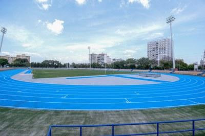 Nueva pista de atletismo del Centro Deportivo San Pablo