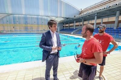 El Ayuntamiento cierra la campaña de verano en las piscinas municipales con 61.328 usuarios y el incremento del programa de baño social en un 35 por ciento