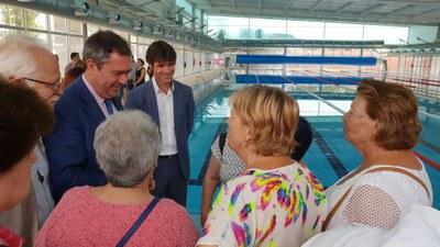 Inauguración de la nueva piscina de Tiro de Línea