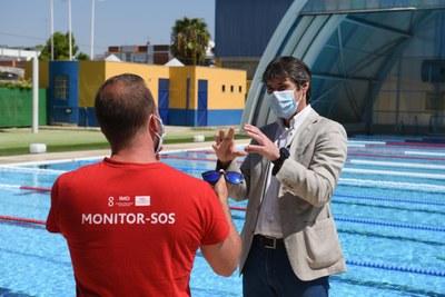 El Ayuntamiento inicia este mes las obras de sustitución de la cubierta de la piscina del Centro Deportivo Torreblanca con una inversión de 1,2 millones