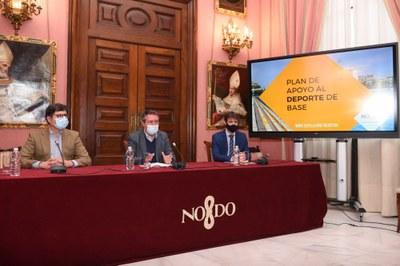 Presentación del Plan de Apoyo a Entidades Deportivas.