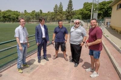 El Ayuntamiento rehabilita los vestuarios del Centro Deportivo  Amate Parque