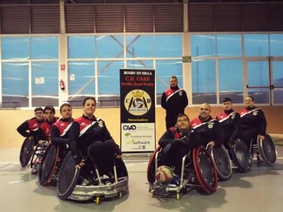 Fotografía del Club CAAD Quad Rugby Sevilla