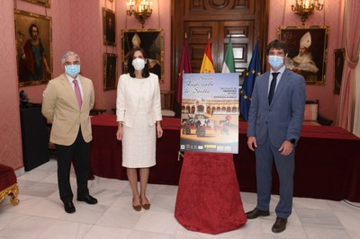 Presentación de la X Semana Anglo-árabe 2020, en el Ayuntamiento de Sevilla.
