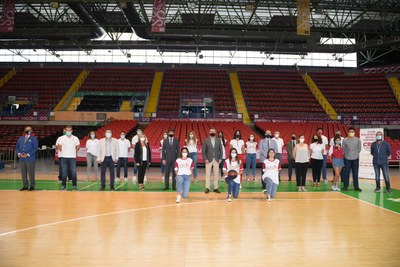 Foto oficial del Tecnigen Club Baloncesto Sevilla Femenino 2020-2021
