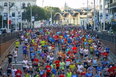 Imagen del Zurich Maratón de Sevilla 2020