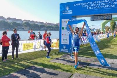 Los clubes Diablillos de Rivas en categoría masculina y Cidade de Lugo Fluvial en femenina, ganadores del Campeonato de España de Triatlón por Clubes Supersprint
