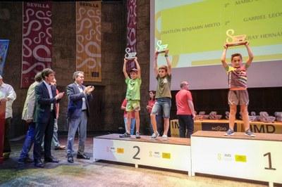 Más de 37.000 deportistas participan en los Juegos Deportivos Municipales que concluyen con la ceremonia de clausura