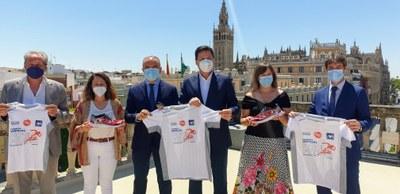 Presentación en Sevilla de la Carrera Virtual Ponle Freno 2021