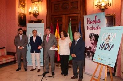 Presentación de los Internacionales de Andalucía de Tenis Femenino 'Copa Nadia'