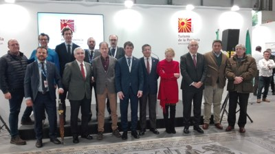 Presentación de la agenda deportiva de Sevilla en Fitur 2020.