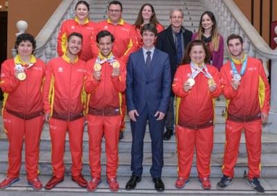 Siete sevillanos consiguen seis medallas en los Juegos Mundiales de Verano de Special Olimpics de Abu Dhabi