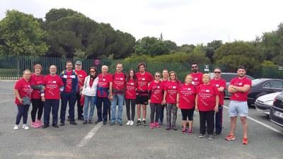 Participantes de la primera ruta del Circuito de Paseos para Adultos y Mayores