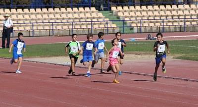 Los colegios de los distritos Triana-Los Remedios y Nervión-San Pablo participaron en la II Jornada de Promoción del Atletismo Base