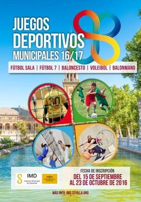 Cartel Juegos Deportivos Municipales 2017